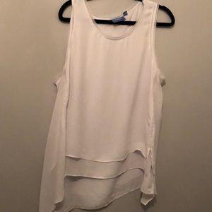 VERA WANG white blouse